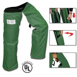 Forester Chainsaw Chaps Zipper