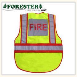 Fire Hi-Vis traffic vest back
