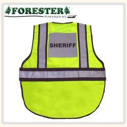 Sheriff hi-Vis traffic vest back