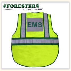 EMS Hi-Vis traffic vest back