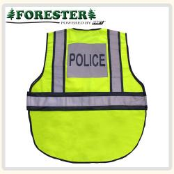 Police Hi-Vis Safety Vest Back